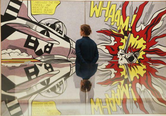 Cuando lichtenstein no solo hizo pop cultura el pa s - Roy lichtenstein cuadros ...